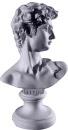 David Miniature Bust Statue