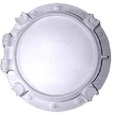 Porthole Plaster Picture Frame Large